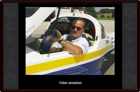 Video-Screenshot des Bezirks-TV zum Abflug von Helmuth Lehner