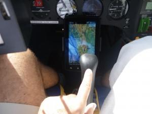Leichter Druck schafft Ruhe in der Flugbahn