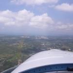 Anflug auf U-Tapao Intl. Military Airforcebase