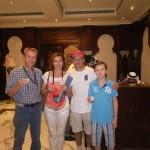 Urlaub bei Freunden in Abu Dhabi, mein Schulkollege Robert und seine Familie bereiten einen herzlichen Empfang | Warm welcome from my schoolfriend Robert and his family