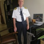 My schoolfriend from HTL in Braunau Captain Robert Hohengassner, now flying for Etihad