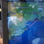 Inbound dem Gangesdelta kurz vor Kalkutta, neuer Name Colgatta