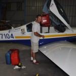 141 Liter Mogas von der Tankstelle sollten mich bis Samoa bringen, in Fiji wurde nicht getankt