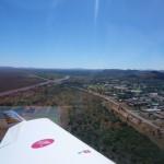 Abflug nach Darwin zur Zollabfertigung, 1000 km nur fuer einen Stempel