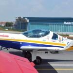 Abflug zum Städteflug Kualar Lumpur