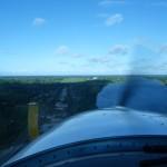 Anflug auf Nausori Suva, Fiji, die grosse Enttaeuschung sollte bald kommen