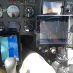 Das Cockpit wie im Wohnzimmer eingerichtet