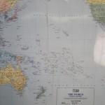 Die Zeitzonen, Kiribati liegt wieder einen Tag voraus, dann gehts wieder einen Tag zurueck