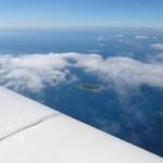 Die ersten Fijiinseln kommen in Sicht