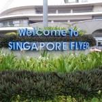 Eine Fahrt mit dem Riesenrad Singapur Flyer