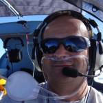 In 9500 ft ueber den Wolken mal mit Sauerstoffanlage