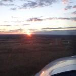 Landeanflug auf YAYE Ayres Rock Airport