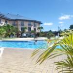 Mein Hotel seit nunmehr 8 Tagen, Tradewind in Pago Pago, das einzige echte Hotel hier