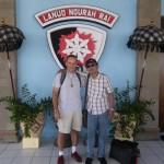 Mein netter Freund Baska bei der Ankunft in Bali, er hat meine zwei Tage in Bali bereichert