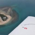 Meine Trauminsel wo ich wenige Stunden zuvor noch im Korallenriff die vielen bunten Fische beobachten konnte