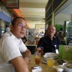 Meine helfenden Haende in Jakarta-Cheppy und Pudjo