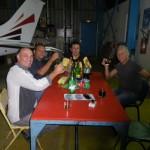 Treffen mit franzoesischen Dynamicfreunden Marc und Christian die ihre Dynamic im letzten Jahr von Paris nach Noumea geflogen haben
