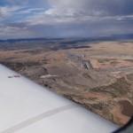 Bergbau in USA im Hintergrund immer wieder Gewitter und lokale Regenschauer