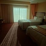Das schoenste und guenstigste Hotelzimmer auf meiner ganzen Reise fuer nur 49$ die Nacht. Man hofft das Geld mit den Spielern zu machen, Fehlanzeige bei mir