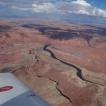 Der Colorado River am anderen Ende des Grand Canyon