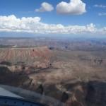 Die Hochebene des Colorado River, immer ueber 7000 ft hoch