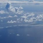 Die Insel Puka Puka NCPK, zu den Cook Inseln gehoerend, diese wiederum zu Neuseeland