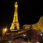 Keine Sorge ich bin nicht in Paris gelandet, der Eifelturm als Las Vegas Boulevard