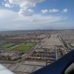 Las Vegas und der suedlich davon gelegene Flugplatz Henderson
