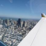 San Francisco Down Town mit der erdbebensicheren Transamerican Pyramid, einem Buero- und Finanzgebaeude