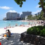 Waikiki Beach, endlich in Hawaii!