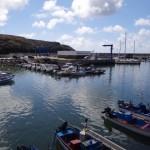 Der Hafen von Vila do Porto
