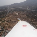 Blick zu meinen Modellflugfreunden in Malaga wo ich seit meinem Winteraufenthalt 2010/2011 Mitglied bin. Die neue Autobahnumfahrung von Malaga ist jetzt fertig und eine grosse Verkehrserleichterung.