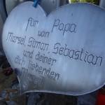 2 Die hinterbliebenen Kinder und Gattin von Reinhard Holl