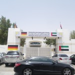 Germa school in Abu Dhabi where I tought goegraphy for the children