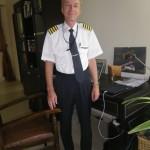 My schoolfriend from HTL in Braunau Captain Robert Hohengassner, now flying for Etihad