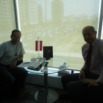 Mr. Penzias from the austrian trade chamber helped a lot to organize the further stays