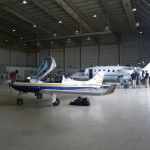 I was even allowed to work on my plane in the cooled military hangar and could leave the plane over night there, thanks everybody for this kind help!
