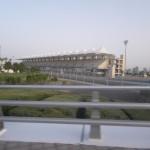 visiting the formula 1 circuit of Abu Dhabi