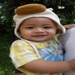 Kind auf Bali - ein Jahr alt